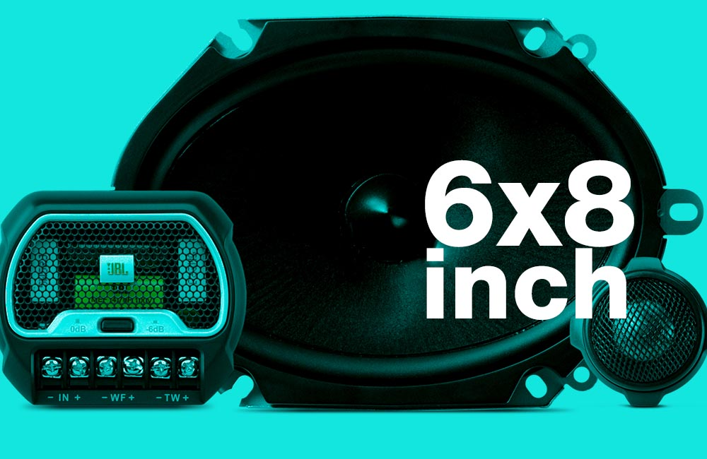 Best 6x8 Car Speakers For Bass