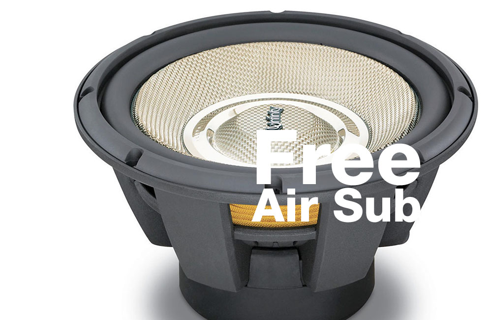 Best Free Air Subwoofers