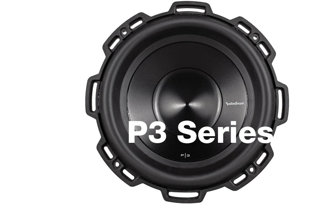 Rockford Fosgate Punch p3 series subwoofer