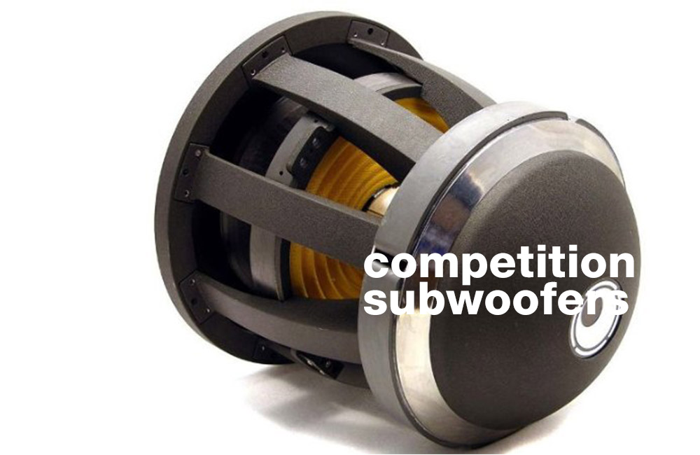 best Competition Car Subwoofer on the market