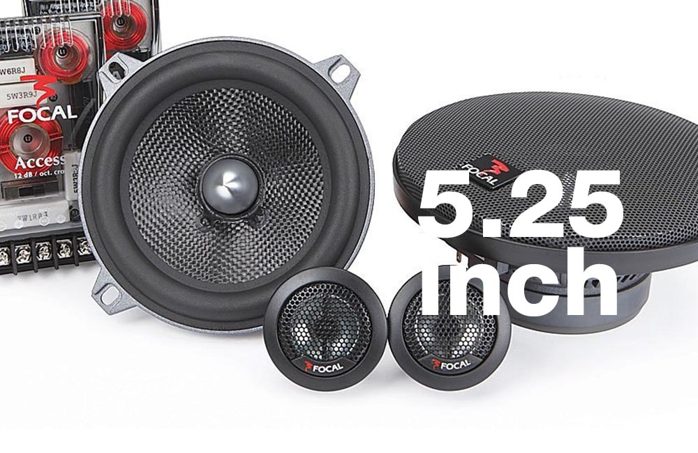 Best 5.25 car speakers component and coaxial