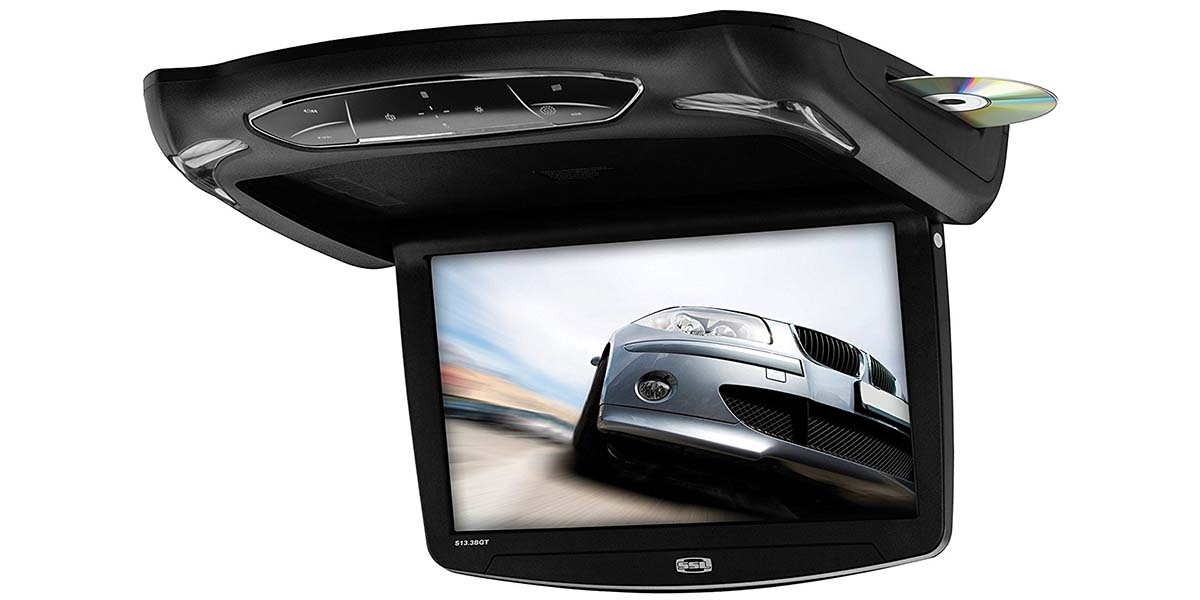 Best Overhead DVD Players & Monitors