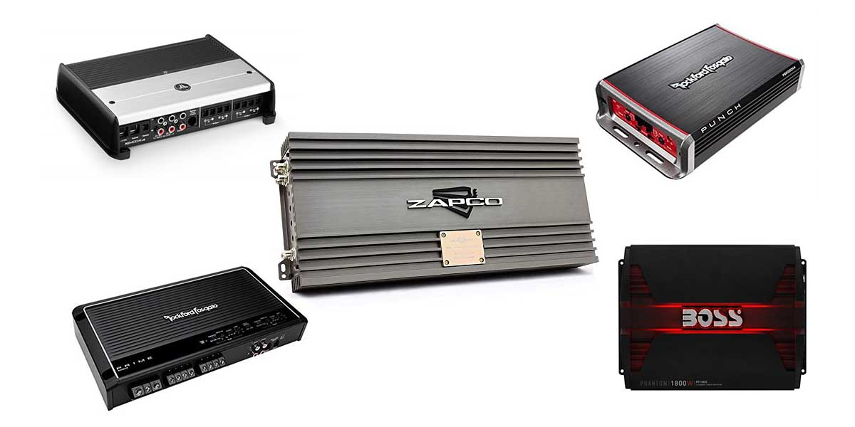 Best 4-Channel Car Amplifiers For Sound Quality