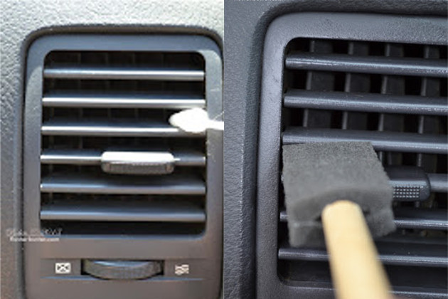 19. Sponge Brush to Clean Vents