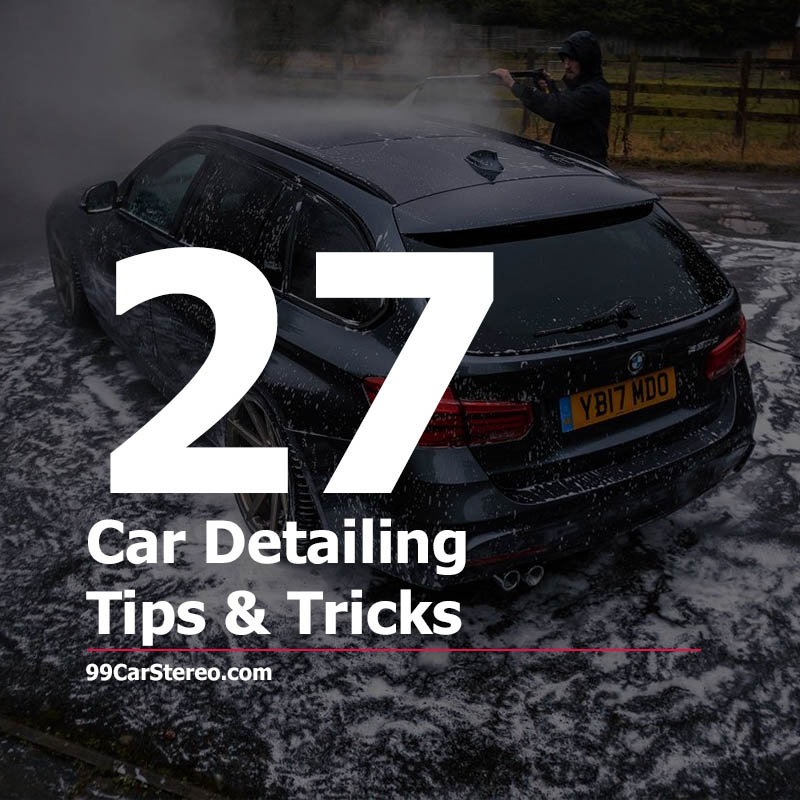 Car Detailing Tips & Tricks