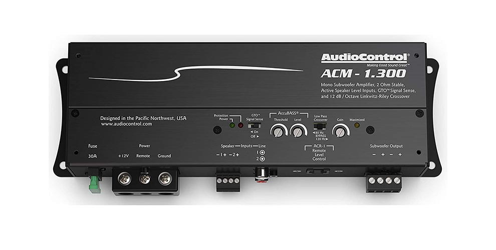 AudioControl ACM Series ACM 1.300 Review